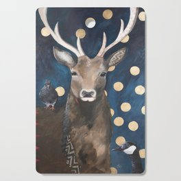 Stag with Tubbs and Goose Cutting Board