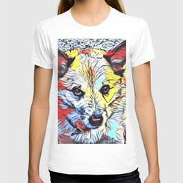 Color Kick - Dog (R) T-shirt