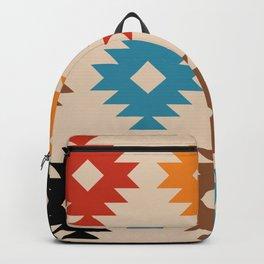 Colorful Southwestern Pattern 539 Backpack