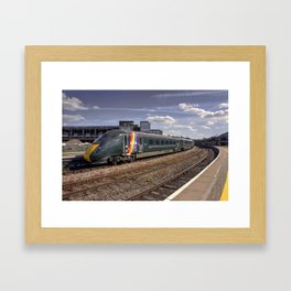 Trainbow Framed Art Print