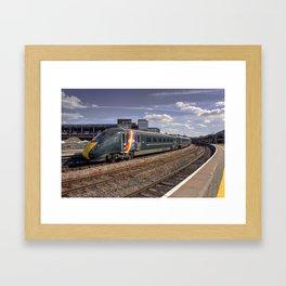 Trainbow Framed Art Print