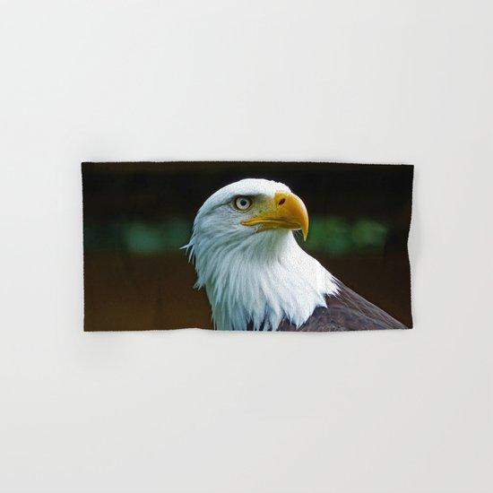 American Bald Eagle Head Hand & Bath Towel