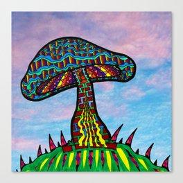 Mushroom Hill Canvas Print
