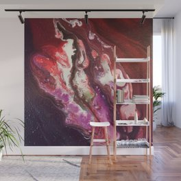 Cosmic Artwork Original Painting. Abstract Space by Jodi Tomer Wall Mural