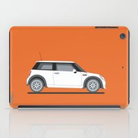 mini cooper iPad Cases featuring Mini Cooper by Aimee Liwag