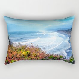 Agate Beach Trinidad California Rectangular Pillow