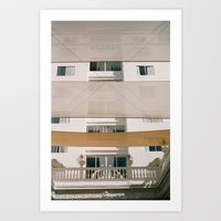 canopies Art Print