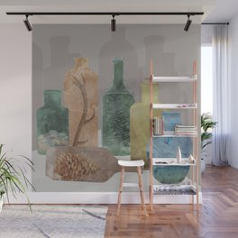 Deconstructed Woods Wall Mural