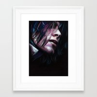 noir Framed Art Prints featuring Noir by Jeanne