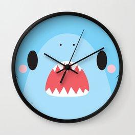 Shark Block Wall Clock