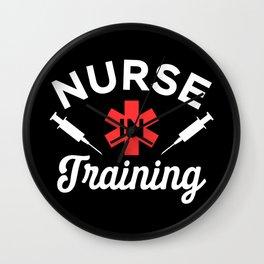 Funny Nursing Student Gift - Nurse in Training Wall Clock