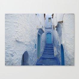 Moroccan Blues Canvas Print