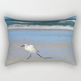 Beach stroll Rectangular Pillow
