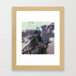 Action v. Inaction Framed Art Print