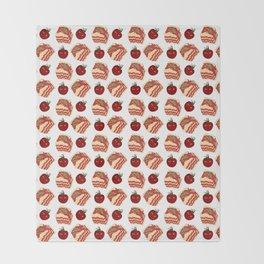 pasta pattern Throw Blanket