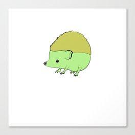 Hedgehog is love hedgehog is life. Canvas Print