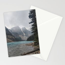 Cold Day at Lake Moraine Stationery Cards