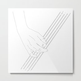 Tunes for you Metal Print