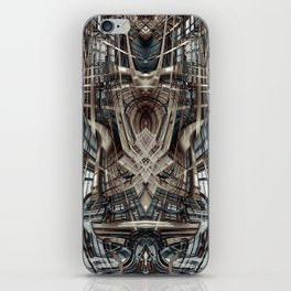 Abstract fantasy building iPhone Skin