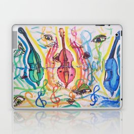 double bass party Laptop & iPad Skin