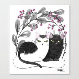 Pretty Kitties Canvas Print