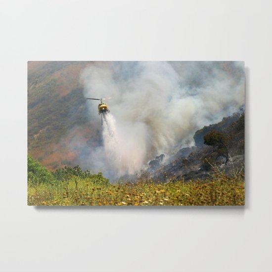 Barnett Fire Metal Print