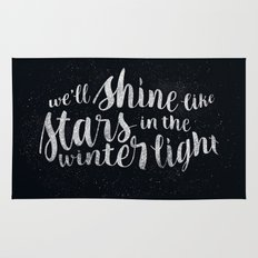 Shine like Stars - Winter Rug