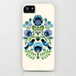 Polish Folk Birds iPhone Case