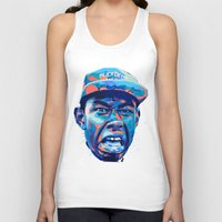 tyler the creator Tank Tops featuring TYLER THE CREATOR: NEXTGEN RAPPERS by mergedvisible