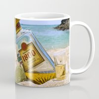 tequila Mugs featuring Tequila! by Brocoli ArtPrint