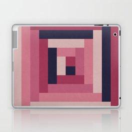 Pinkish Rectangular Squares Laptop & iPad Skin