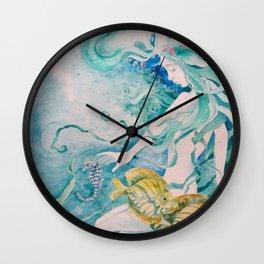 Fathom Mermaid Wall Clock