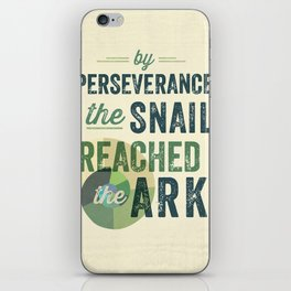 perseverance iPhone Skin