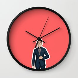 Eddie Redmayne 4 Wall Clock