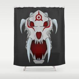 RWBY - Sabyr Skull Shower Curtain