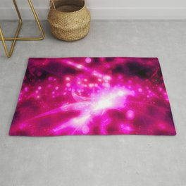 Bubbling Up (hot pink) Rug