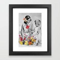 Plantae Wash Out Framed Art Print