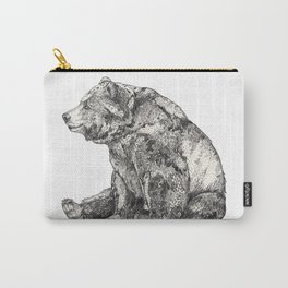 Bear // Graphite Carry-All Pouch