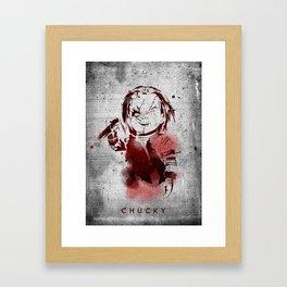 Chucky Framed Art Print