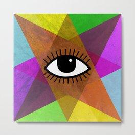 The all-seeing eye Metal Print