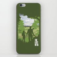 the last of us iPhone & iPod Skins featuring The Last Of Us by Pixel Design