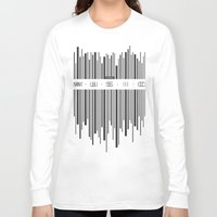 code Long Sleeve T-shirts featuring Music Code by Sitchko Igor