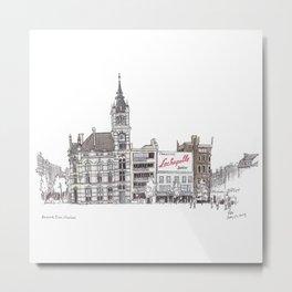 Librairie Moliere, Charleroi Metal Print