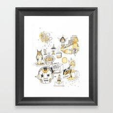 Golden Hour Framed Art Print