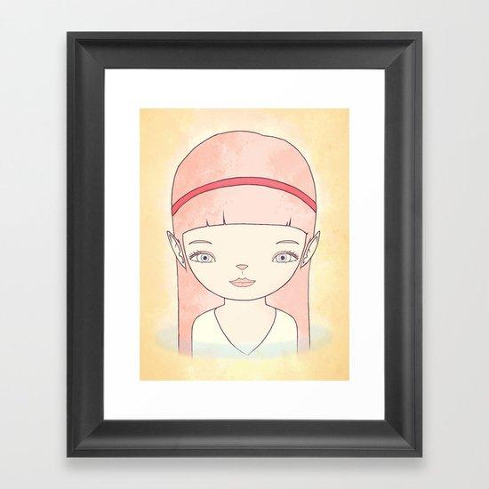 수호자 GUARDIAN Framed Art Print
