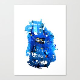 Blue Emotion Canvas Print