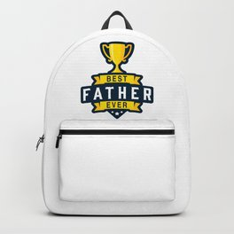 Best Father Ever Backpack