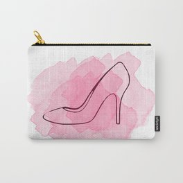 Pink Shoe Carry-All Pouch