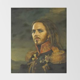 Tim Minchin - replaceface Throw Blanket