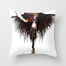 Charon, boatman of the dead Throw Pillow